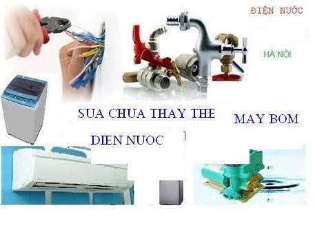 Dịch vụ sửa điện nước tại Khâm Thiên