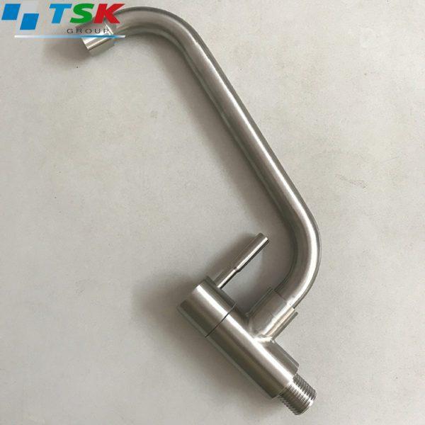 Vòi chậu rửa bát - Vòi chậu rửa 1 đường nước inox 304