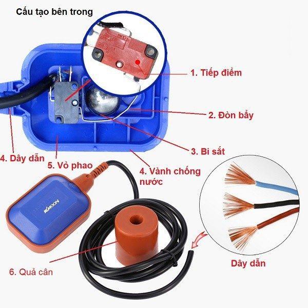 hướng dẫn lắp đặt phao điện tự động